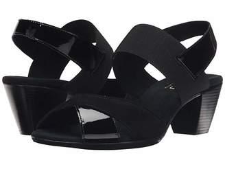 Munro American Darling (Black Combo) Women's Sling Back Shoes