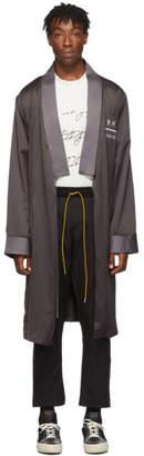 Rhude SSENSE Exclusive Black Soho House Edition RH Robe