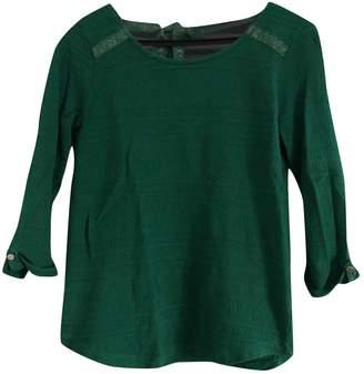 Green Cotton Sézane Sezane Tops