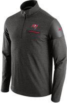 Nike Men's Tampa Bay Buccaneers Elite Coaches Quarter-Zip Pullover