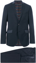 Etro contrast pocket suit jacket