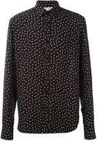 Saint Laurent polka dot print shirt