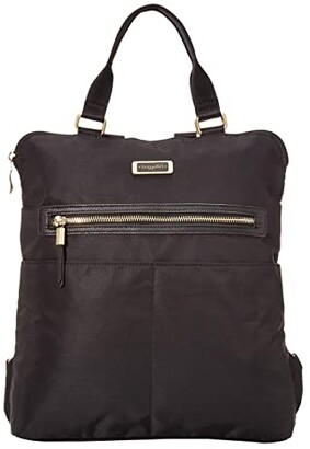 Baggallini Jessica Convertible Tote Backpack (Black) Backpack Bags