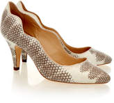 Loeffler Randall Tilda White Leather Court