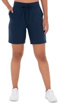 """Athletic Works Women's French Terry Athleisure 7"""" Drawstring Short"""