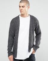 Asos Longline Cardigan with Alpaca Yarn