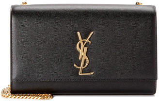 Saint Laurent Medium Kate Monogram Leather Shoulder Bag