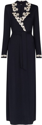 La Perla Brenda lace-trimmed wrap robe