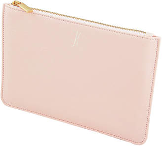 Cathy's Concepts Cathys Concepts Embroidered Bright Pink Vegan Leather Clutch