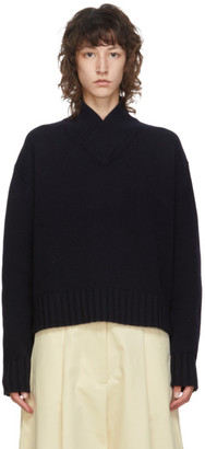 Studio Nicholson SSENSE Exclusive Navy Kelvin Sweater