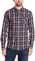 Levi's Men's Teddy Folded Sleeve Poplin Shirt
