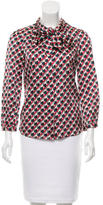 Marc by Marc Jacobs Satin Geometric Top w/ Tags