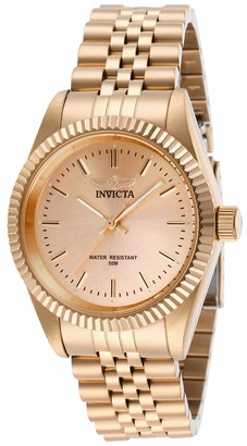 Invicta 29417 Specialty Women's Wrist Watch Stainless Steel Quartz Rose Gold Dial