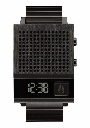 Nixon Mens Digital Watch with Stainless Steel Strap A1266-001-00