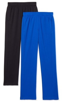 Athletic Works Boys Mesh DriWorks 2-Pack Pants, Sizes 4-18 & Husky