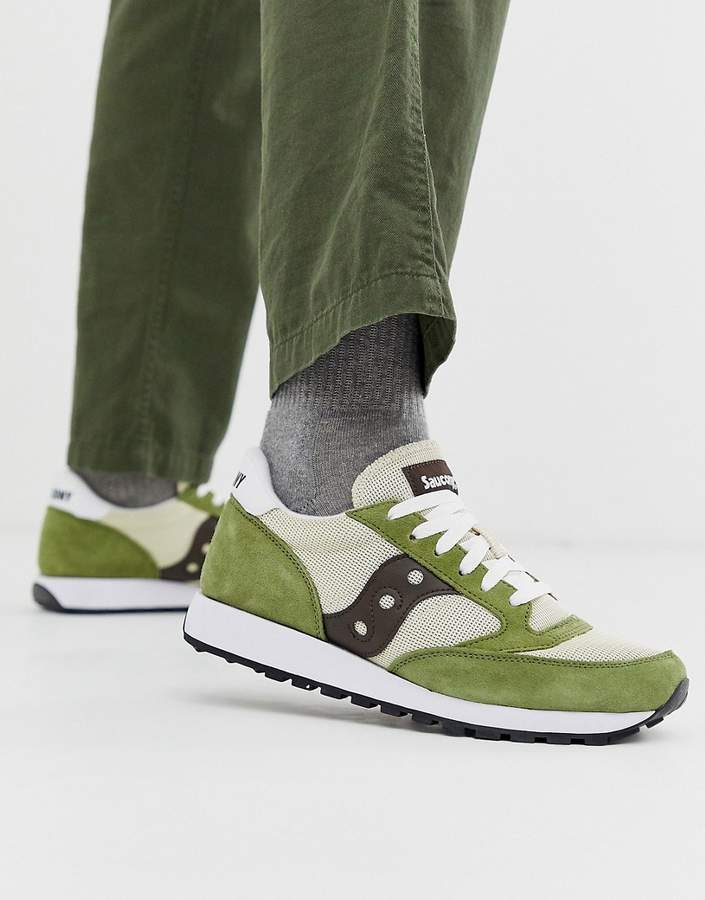 sneakers for cheap 71afb 2aefb Jazz Original trainers in green