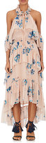 Ulla Johnson Women's Valentine Silk Chiffon Tiered Dress