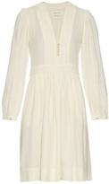 Etoile Isabel Marant Neil V-neck crepe dress