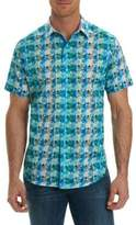 Robert Graham Kaleidoscope Pattern Short-Sleeve Shirt
