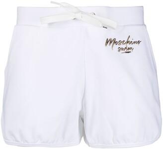 Moschino Logo-Embellished Shorts