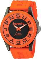 Superdry Men's SYG145O Tokyo Analog Display Quartz Orange Watch