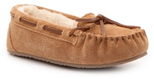 Minnetonka Jocelyn Jr Trapper Moccasin Slipper