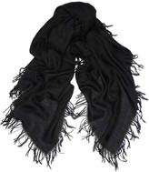 Stella McCartney Wool-blend jacquard scarf