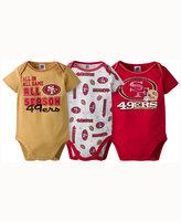 Gerber Babies' San Francisco 49ers 3-pack Bodysuit