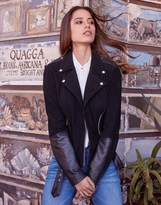 Vila Biker Leather Jacket