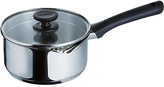 Pyrex Pronto 20cm Non-Stick Stainless Steel Saucepan and Lid