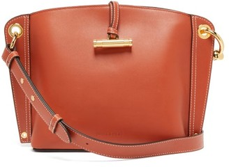 J.W.Anderson Hoist Small Leather Shoulder Bag - Brown