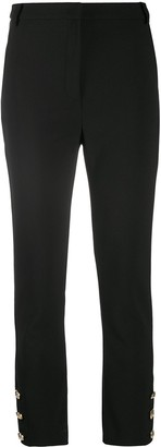 Patrizia Pepe Button Cuff Tailored Trousers