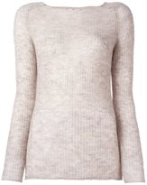 Forte Forte ribbed fine knit jumper