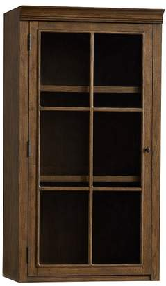 Pottery Barn Hutch with Glass Doors