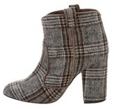 Laurence Dacade Woven Patterned Ankle Boots