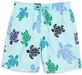 Vilebrequin Boys' Jam Turtle Print Swim Trunks