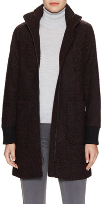 Rachel Roy Tweed Rib Coat
