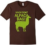 Kids Funny Done Right: Vacation? I'll Pack Alpaca Bag 4