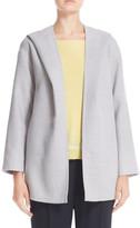 Fabiana Filippi Tie Belt Hooded Wool Jacket