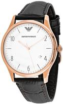 Giorgio Armani Classic Collection AR1915 Men's Leather Strap Watch