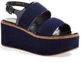 Robert Clergerie 'Flavie' Platform Wedge Sandal (Women)