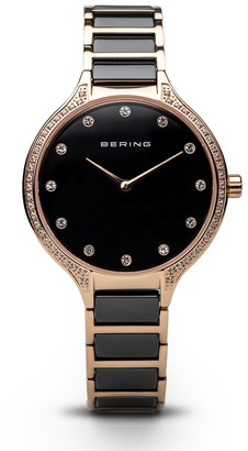 Bering Womens Analogue Quartz Watch with Stainless Steel Strap 30434-746
