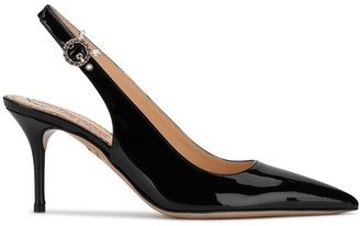 Charlotte Olympia Pointed Slingback Pumps