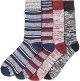 Jack & Jones 4 Pack Striped Socks