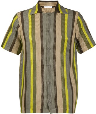 Cmmn Swdn striped Wes shirt