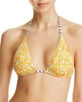 Echo Fleur De La Mer String Bikini Top