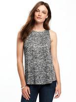 Old Navy Sweater-Knit Keyhole-Back Swing Tank for Women