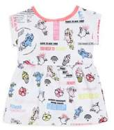 Kenzo Baby's Two-Piece Food-Print Dress & Bloomers Set