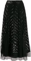 Temperley London Sequinned Tulle Skirt