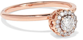 Selim Mouzannar Beirut 18-karat Rose Gold Diamond Ring